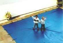capa de piscina